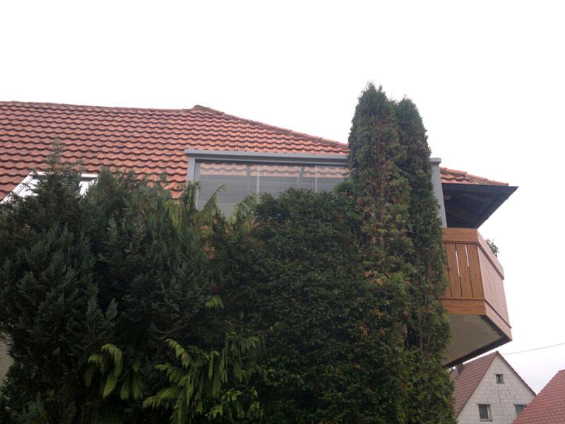 Balkonverglasung Missel