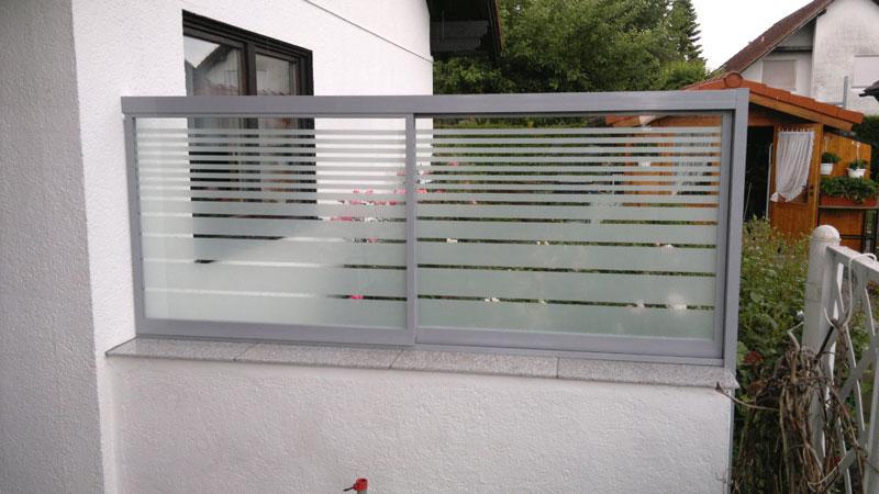 Balkonverglasung Motiv Dublin von Missel