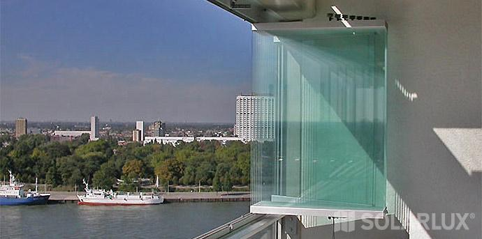 Balkonverglasung Alu