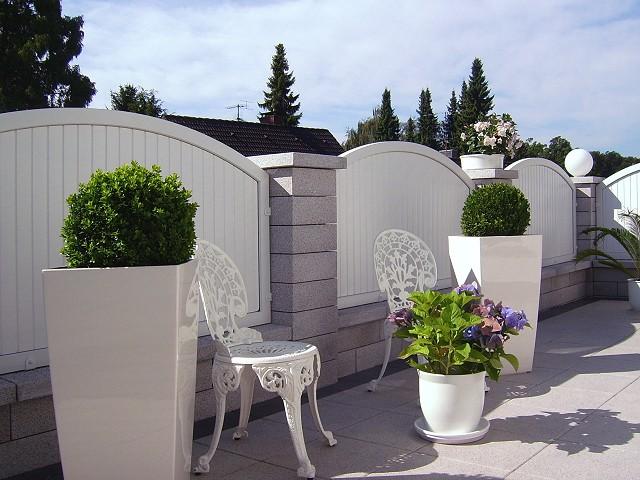 Balkone missel   windschutz und sichtschutz aus aluminium und ...