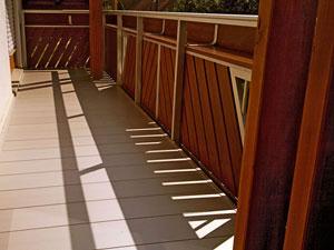 Balkon Boden aus Aluminium eloxiert by Missel