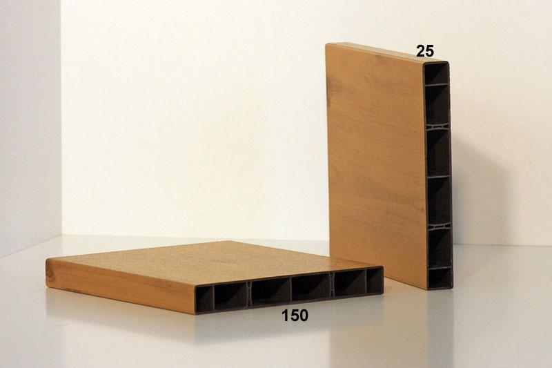 Kunststoff Balkonprofil 150 x 25