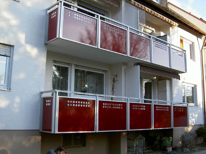 Balkone Missel Alu Eloxiert