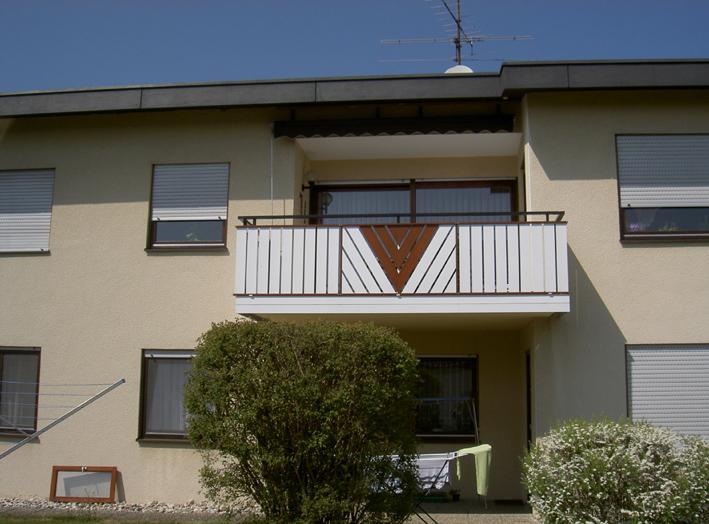 Balkonverkleidung Alu Modell 7012