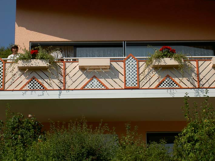 Balkonverkleidung aus Alu Modell 7560